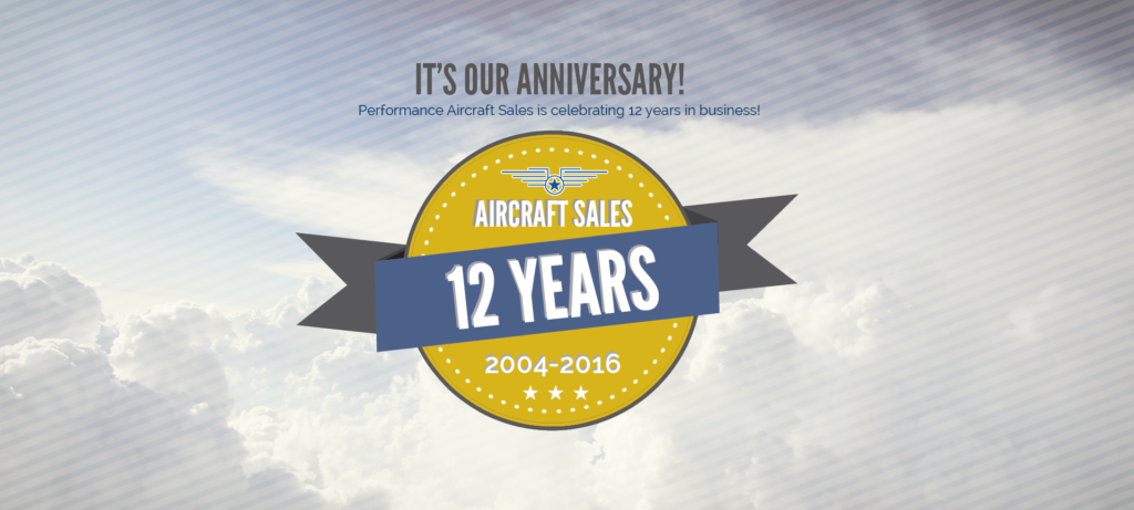 Performance Aircraft Celebrates 12 Years