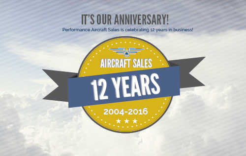 12 years Performance Aircraft