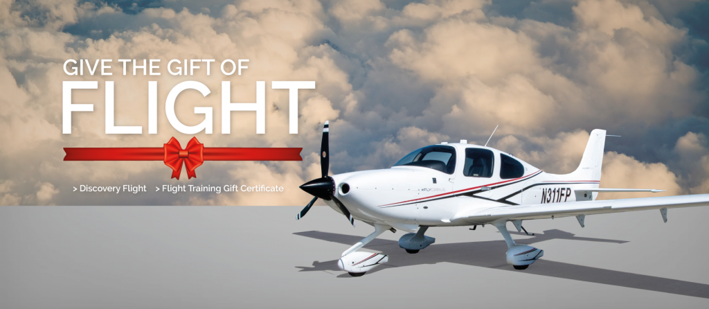 flight training gift certificate